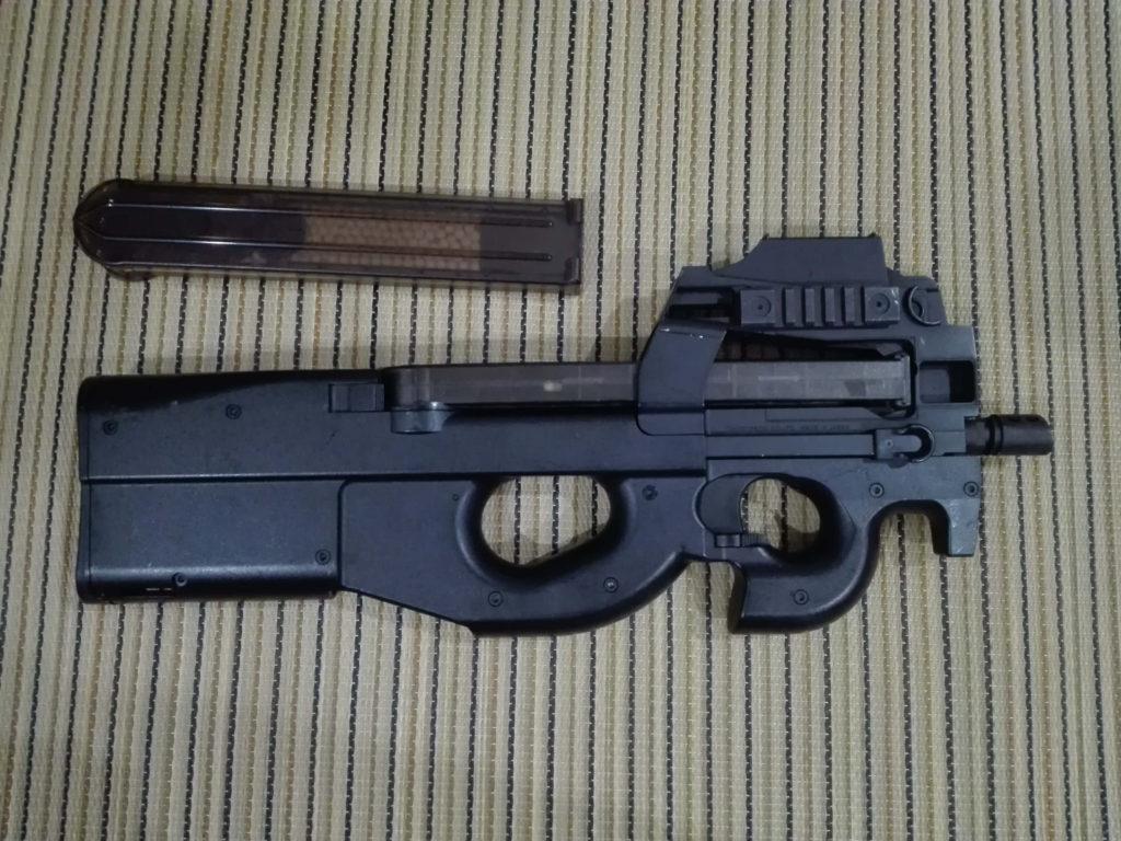 ヤフオクでジャンク扱いの東京マルイ製P90電動ガンを買った結果
