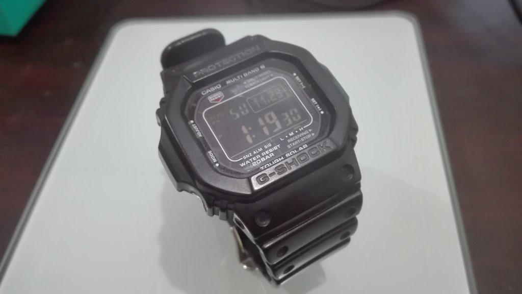 カシオGショック 電波ソーラー 腕時計 GW-M5610-1BJF ブラックをおススメするこれだけの理由