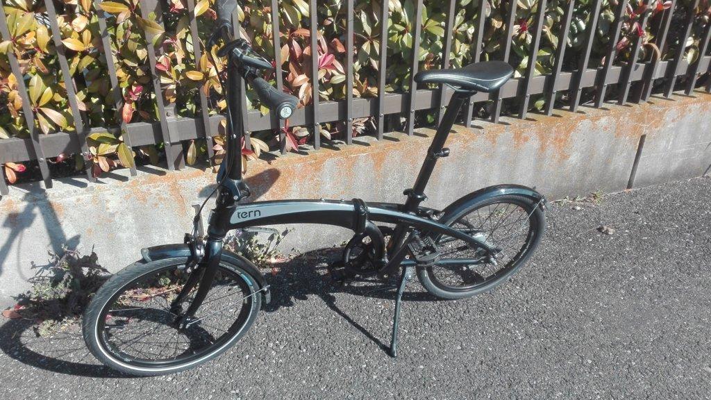 Tern Verge Duo(ターン ヴァージュ デュオ)コースターブレーキ搭載の折り畳み自転車をレポートします